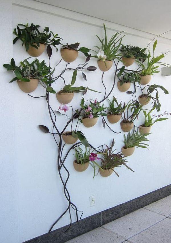 Неабиякі вертикальні підставки для квітів: стильні ідеї для дому та дачі