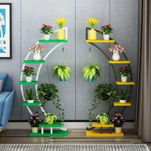 Ідеї квіткових полиць, які варто зберегти