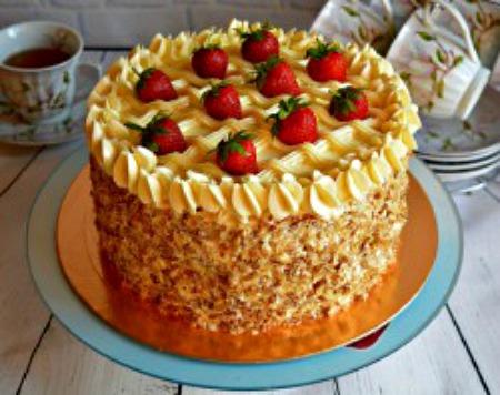 Торт Наталя - популярний класичний рецепт приготування