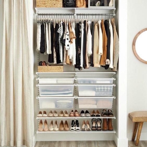 Функціональна гардеробна: ідеї організації при мінімуму простору