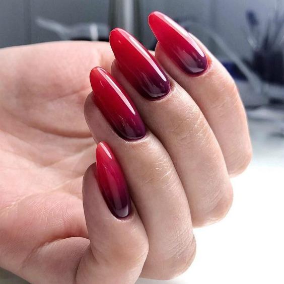 Стильний, розкішний манікюр кольору черешні! 12 чудових варіантів!