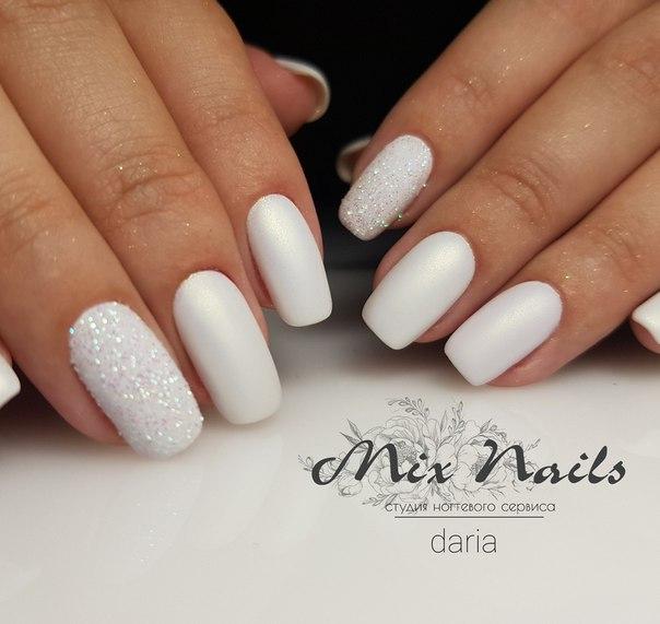 Найкрасивіший білий манікюр, модні і стильні новинки!