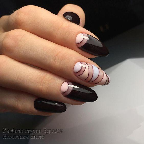 Місячний манікюр - супер новинки! Кращі дизайни нігтів