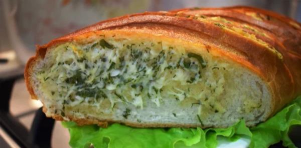 Часниковий хліб за 20 хвилин - смачніше тільки в пекарні
