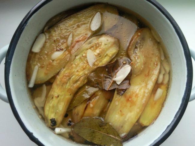 Шикарні мариновані баклажани, дуже смачний рецепт