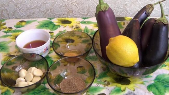 Моментальні мариновані баклажани - дуже смачна закуска за 15 хвилин