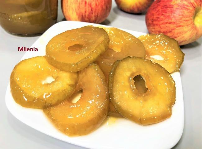 Десертне Яблучне варення на зиму, покроковий рецепт