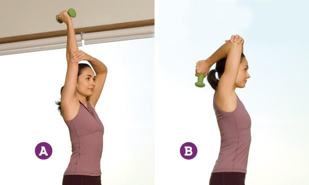 Красиві і підтягнуті руки можливі в будь-якому віці: всього 4 вправи!