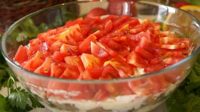 "Незрівнянний салат ""Чикаго"" - рецепт дуже смачного салату"