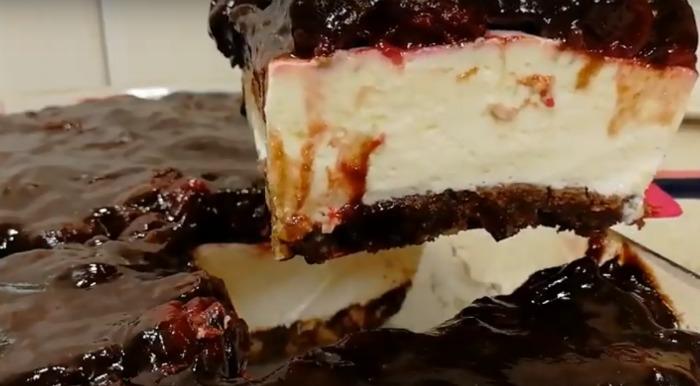 Простий десерт «Вишенька в хмарці» - відмінний рецепт