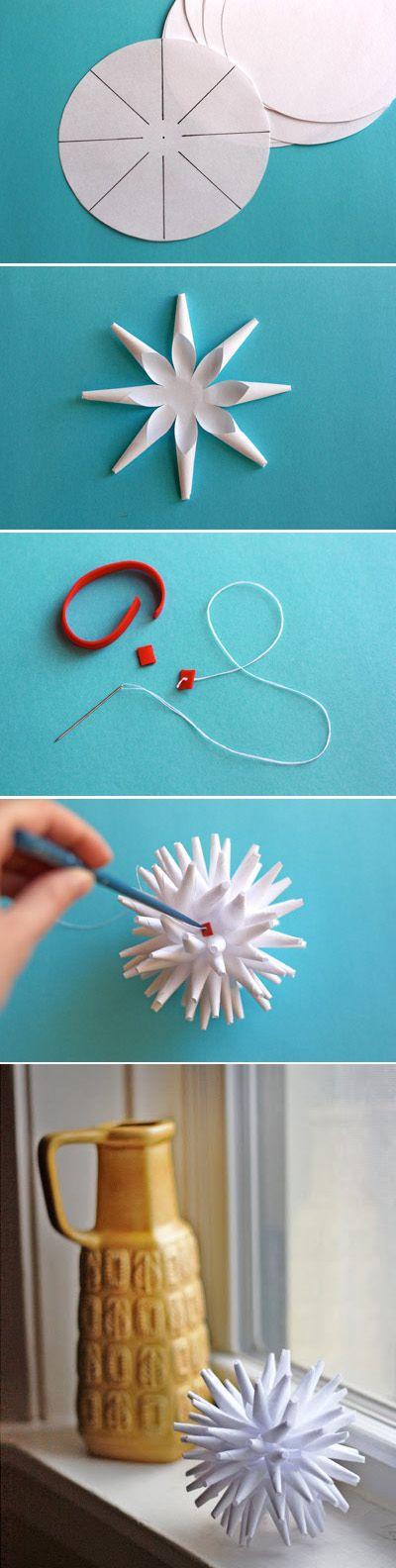 Новорічний декор з паперу: завжди доступно і оригінально