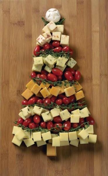 20 ідей, як оформити новорічні нарізки. Просто і красиво