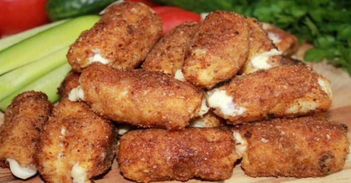 Апетитні курячі рулети, рецепт приготування