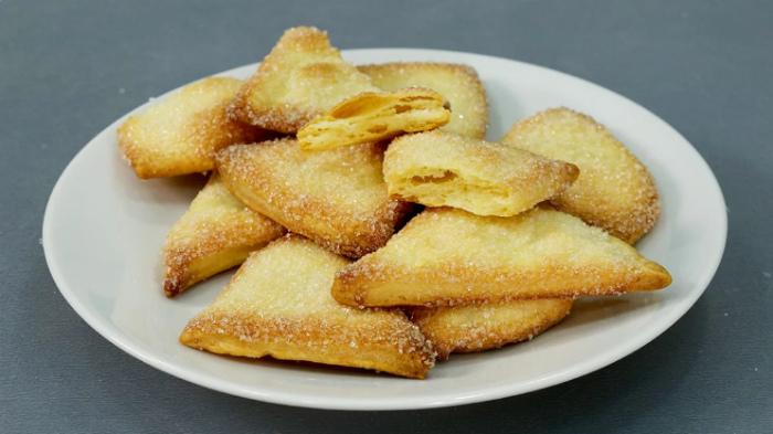 Листкове тісто за 10 хвилин, рецепт приготування
