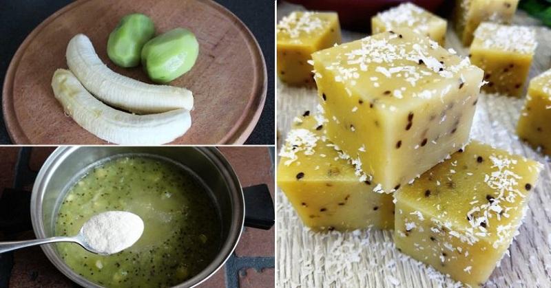 Мармелад з бананом та ківі, рецепт