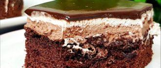 Шоколадний торт тістечко, рецепт