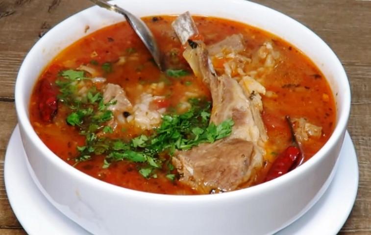 Ароматний суп Харчо, рецепт