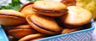М'яке домашнє печиво, рецепт