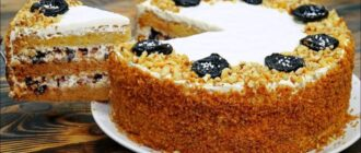 Оксамитовий медовий торт, рецепт