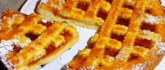 Швидкий пиріг з варенням, рецепт