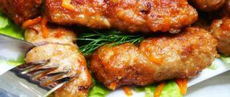 Смажені ковбаски, рецепт
