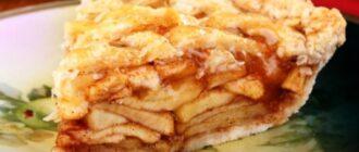 Варшавський яблучний пиріг, рецепт