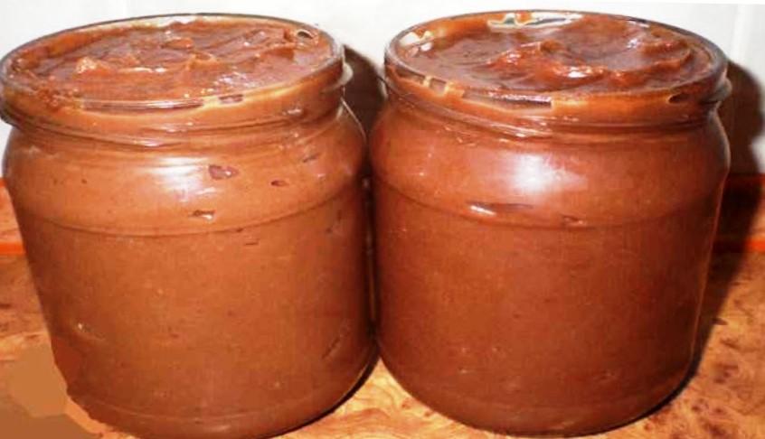 Домашня паста Нутелла, рецепт приготування