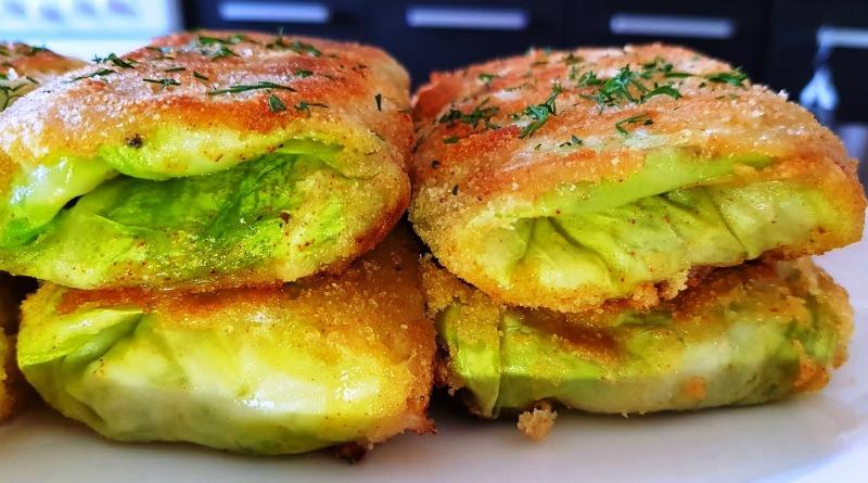 Конвертики з капусти - рецепт закуски