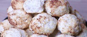 Печиво з трьох інгредієнтів - детальний рецепт