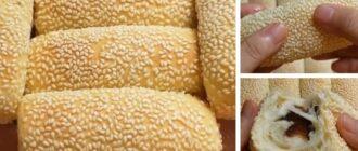 Пишні булочки без смаження в олії - рецепт приготування