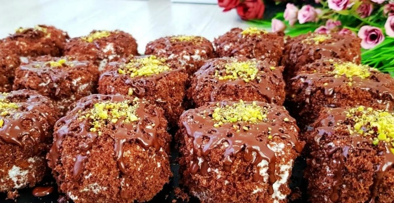 Шоколадні тістечка - детальний рецепт