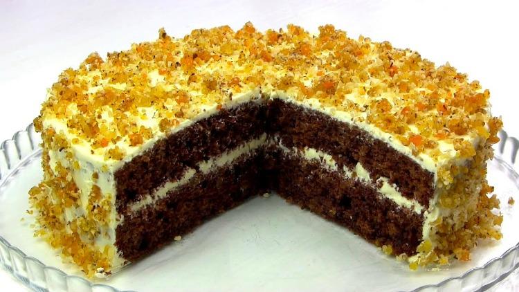 Торт «Янтарний» - детальний рецепт