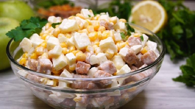 Салат «Три хвилини» - рецепт приготування