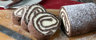 Шоколадна ковбаса «Баунті» - рецепт приготування