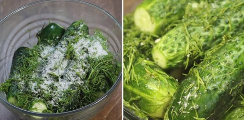 Хрусткі малосольні огірки, рецепт приготування