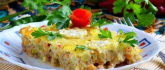 Класична запіканка з кабачків, рецепт приготування