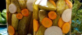Огірки по-угорськи - рецепти приготування
