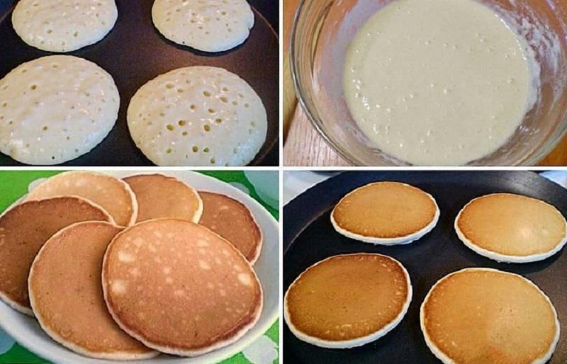 Панкейки на молоці, рецепт приготування