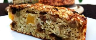 Пиріг з вівсянки на сніданок - рецепт приготування