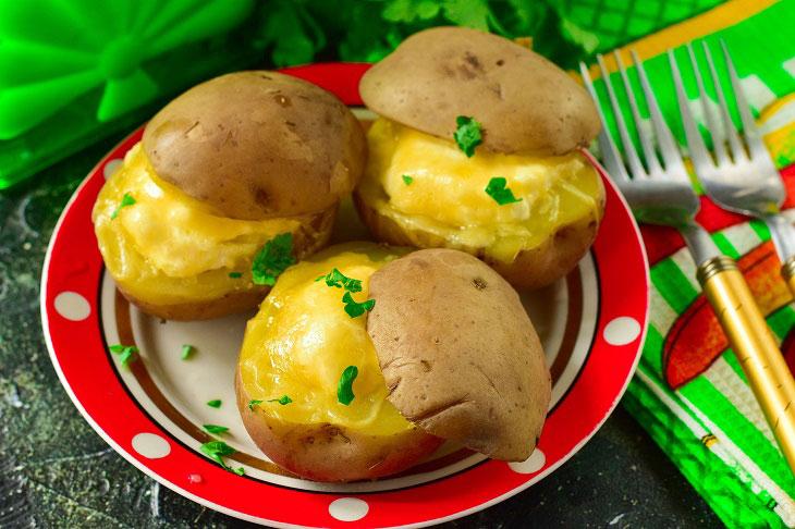 Скриньки з картоплі - рецепт приготування