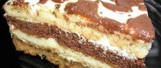 Сметанний торт з маминого зошита - рецепт приготування