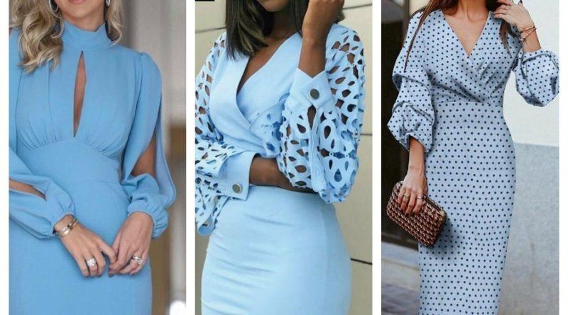 Сукні з красивими рукавами - 10 цікавих моделей