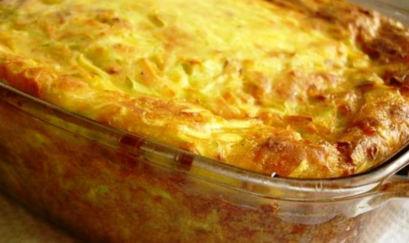 Друга страва з кабачків, рецепт приготування