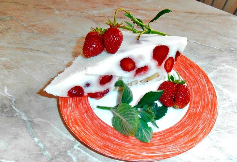 Освіжаючий десерт в жарку пору «Галаретка»