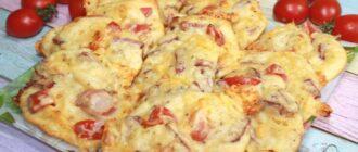 Коржі, як піца, рецепт приготування