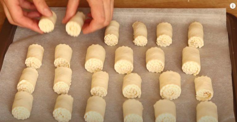 Улюблена сирне печиво. Незвичайна випічка