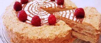 Легкий і смачний торт - рецепт приготування