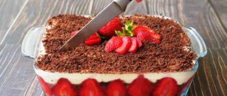Ніжний полуничний торт, рецепт приготування