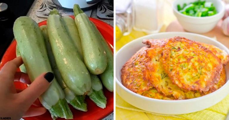 Оладки з кабачків, рецепт приготування