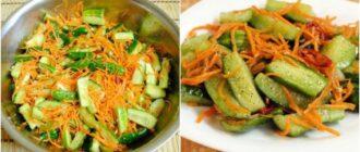 Оригінальні огірочки по-корейськи, рецепт приготування